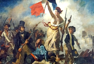 Liberty Leading the People Louvre Museum