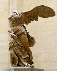 The Winged Victory of Samothrace Louvre Museum