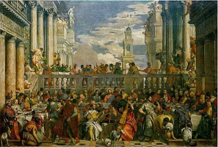 The Wedding at Cana Louvre Museum