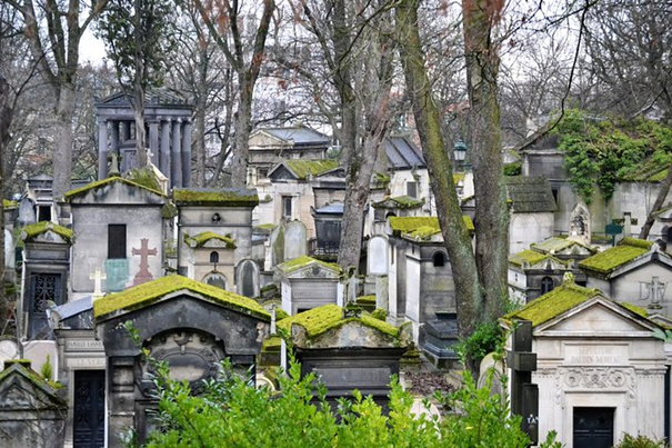 See The Pere Lachaise Cemetery